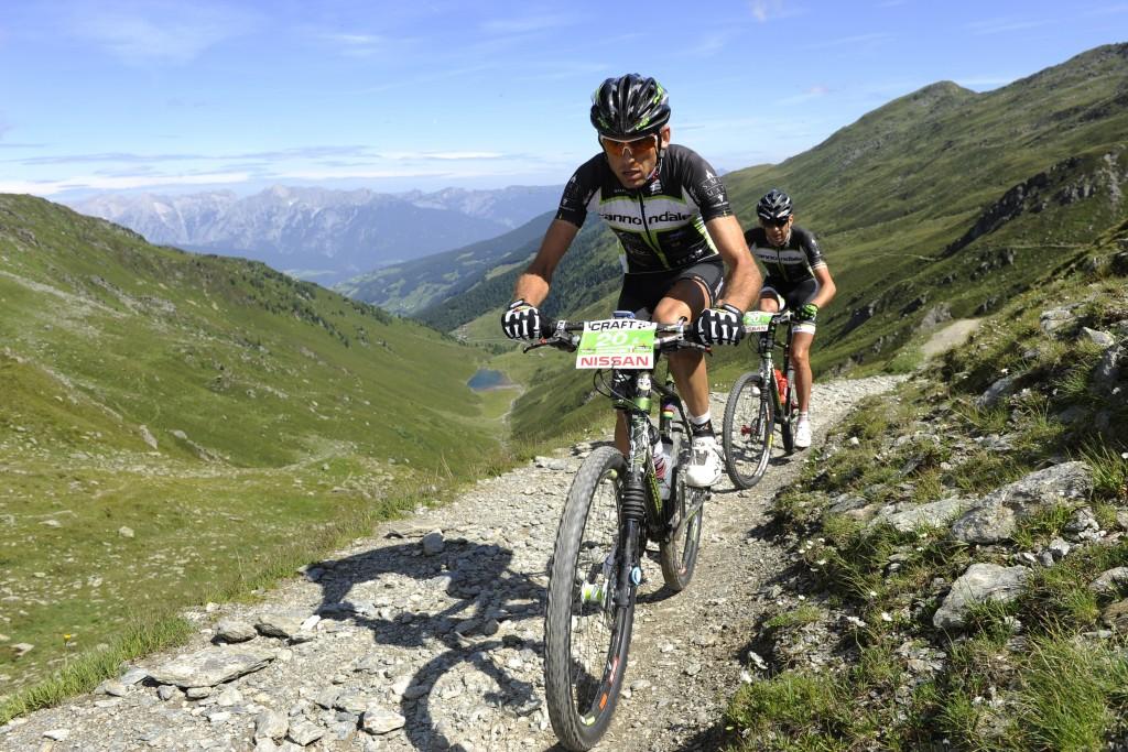Transalp 2011 Etappe2 De Bertolis und Pallhuber