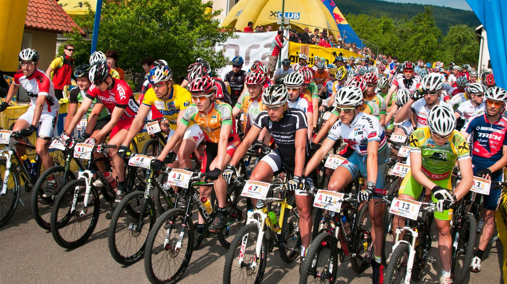 Weinsteinbike 2011 Elitestart extrem