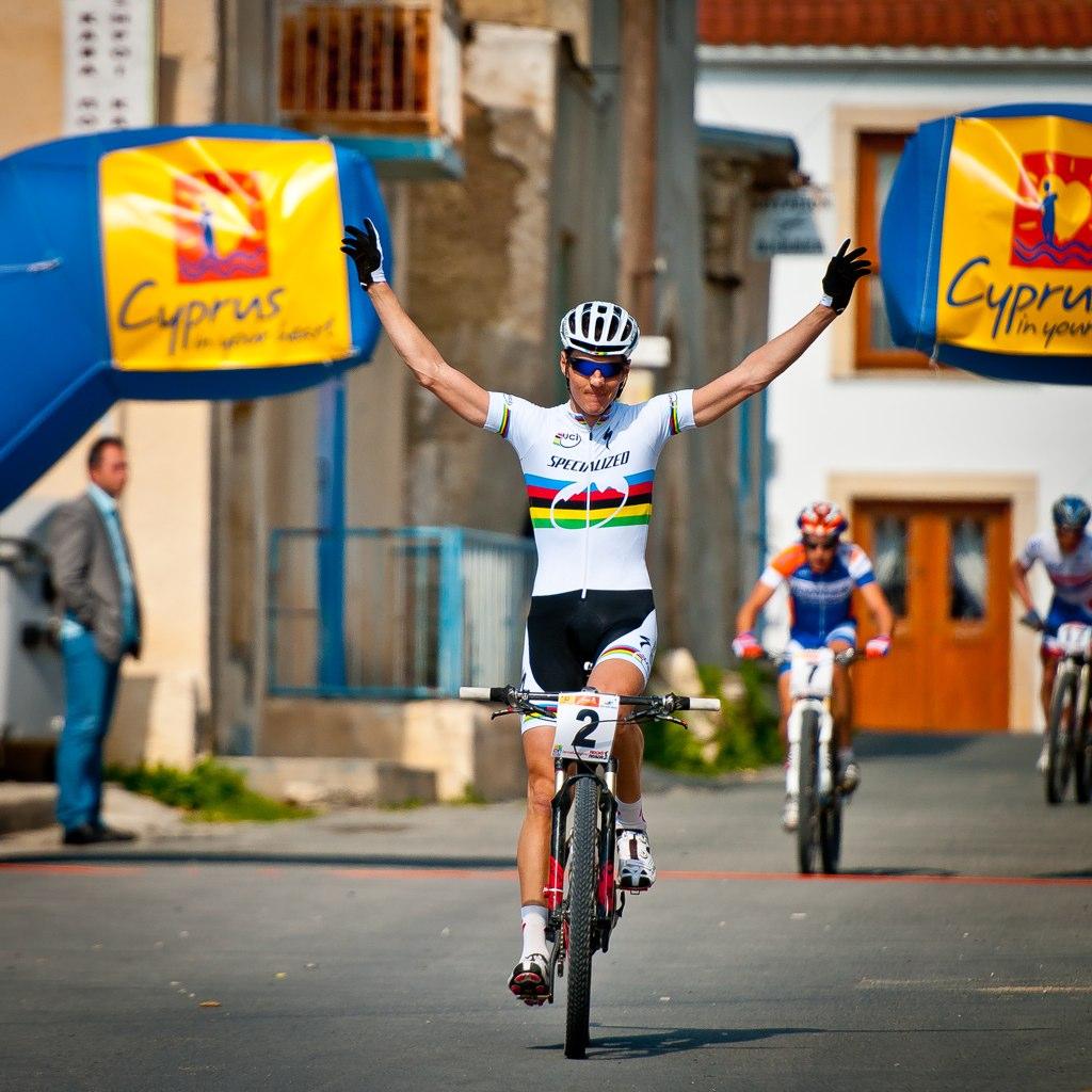 Jaroslav Kulhavy siegt beim UCI C1 Cross Country in Voroklini (CY) Foto: Armin Küstenbrück
