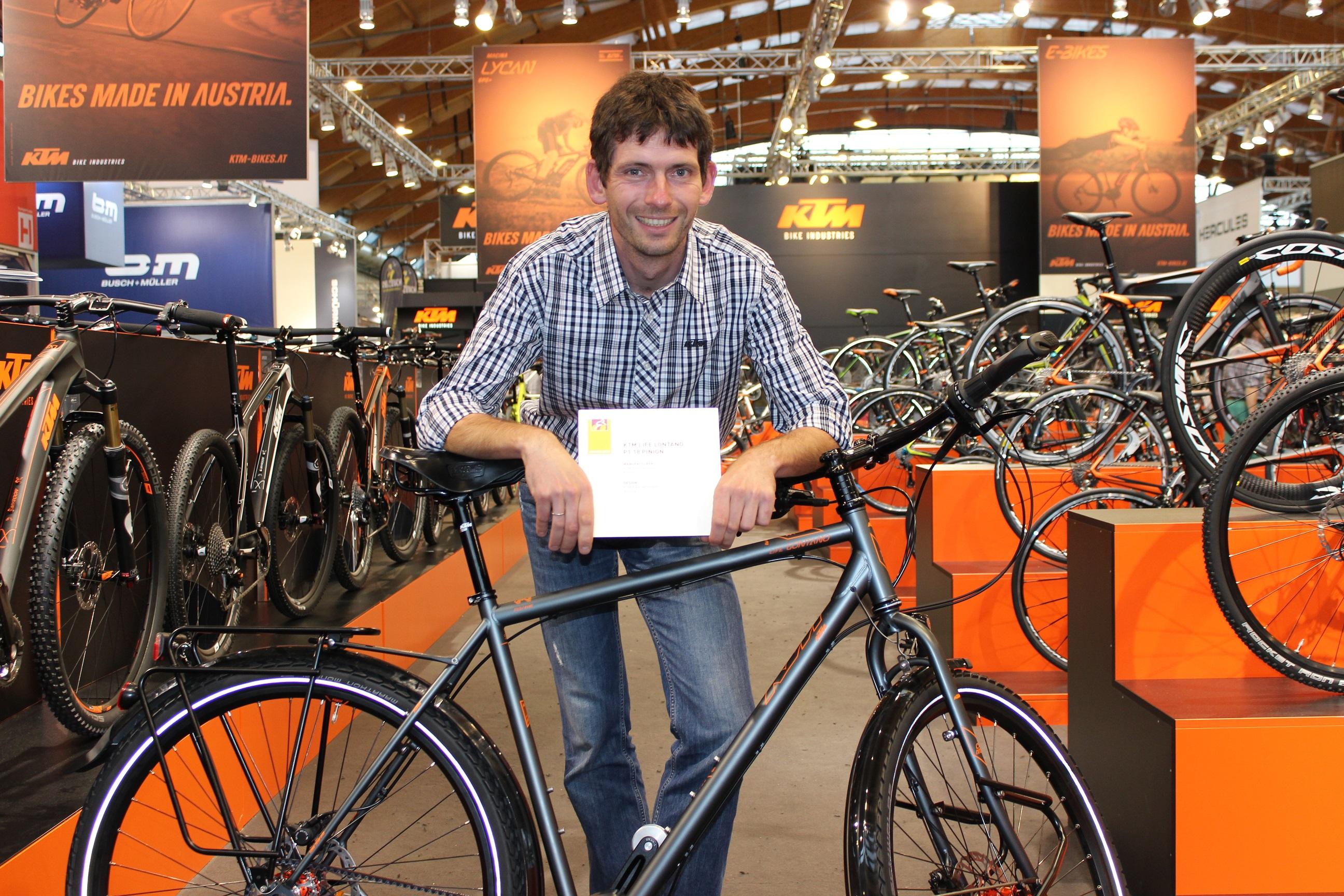 """Eurobike Award für """"Weltenbummler"""" aus dem Hause KTM – RAD"""