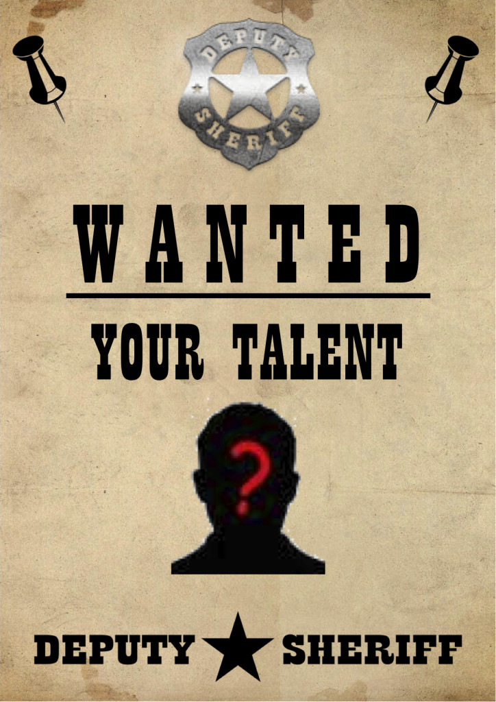 Wanted_Your Talent