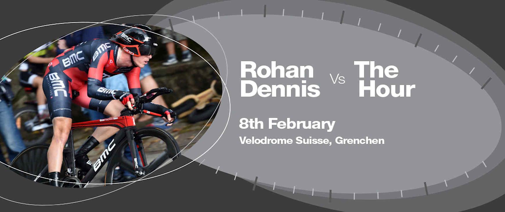 Rohan Dennis´ Weltrekordversuch