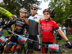 Medvedev-Huber-Pernsteiner-Riva-Bike-Festival-Finish-Podium