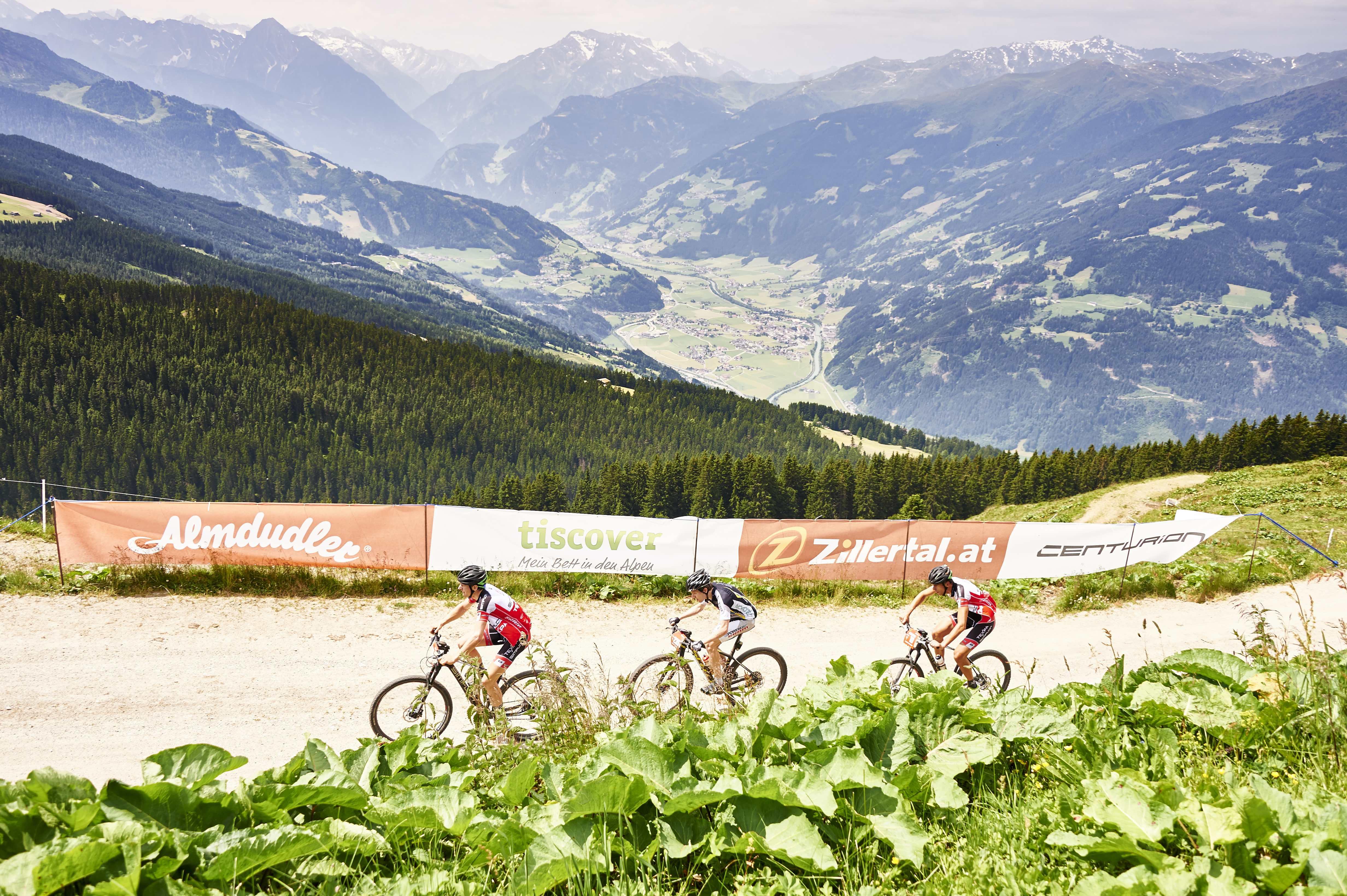03.07.2015: Zillertal Bike Challenge, Tag 1; Fügen - Zell am Ziller - © Marco Felgenhauer