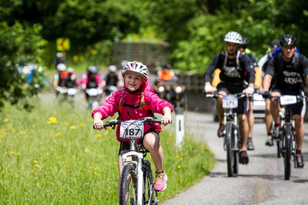 Ob gemütliche Ausfahrt für die ganze Familie oder rasante Sprintaction bei der Windautaler Radlrallye ist am kommenden Samstag beides möglich. (c) Erwin Haiden