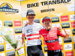 1. Etappe, Finish Brixen, Miha Matavz