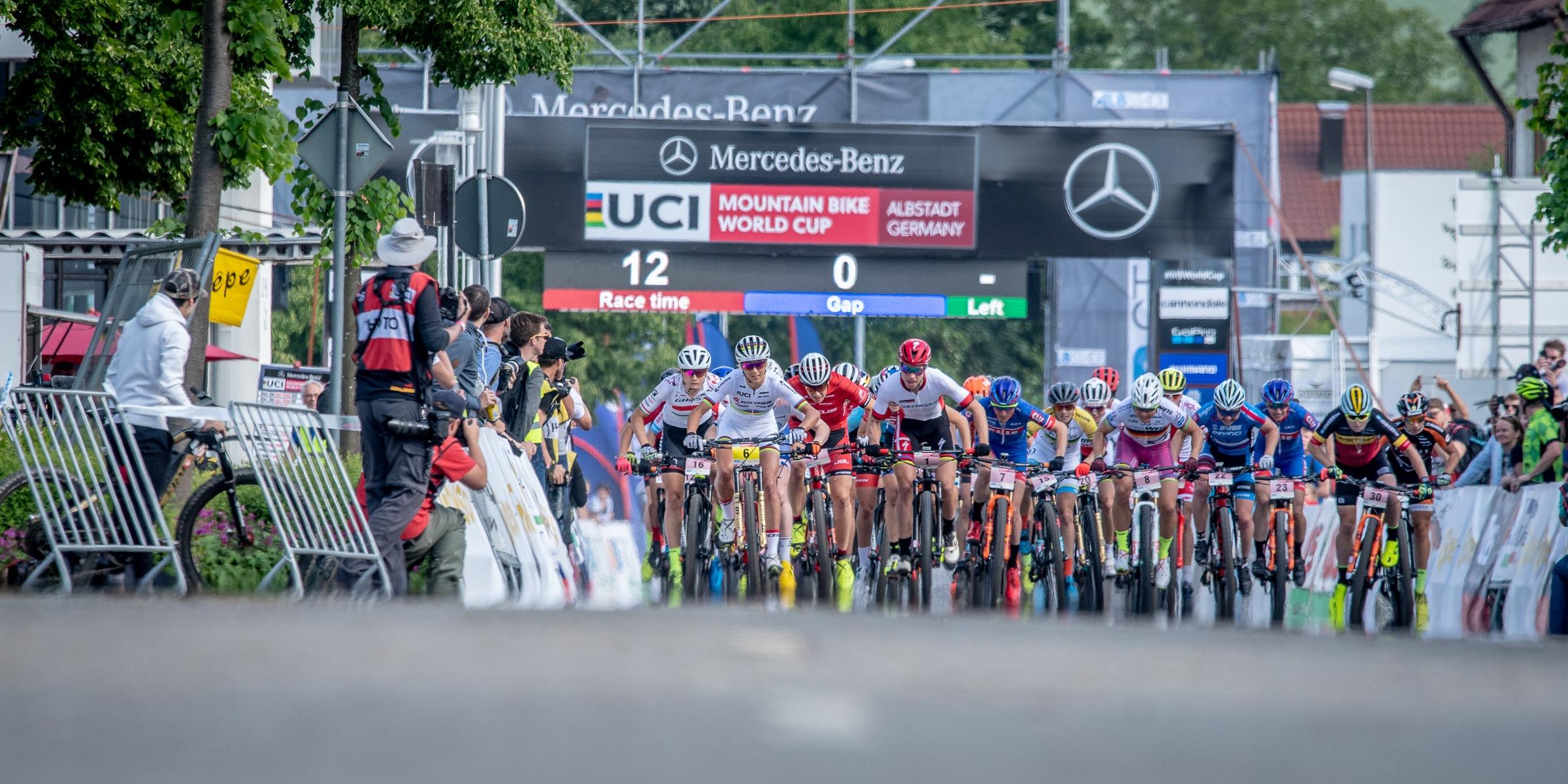 UCI MTB WELTCUP #2 || ALBSTADT