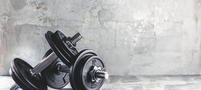 Krafttraining  Fitness Hanteln