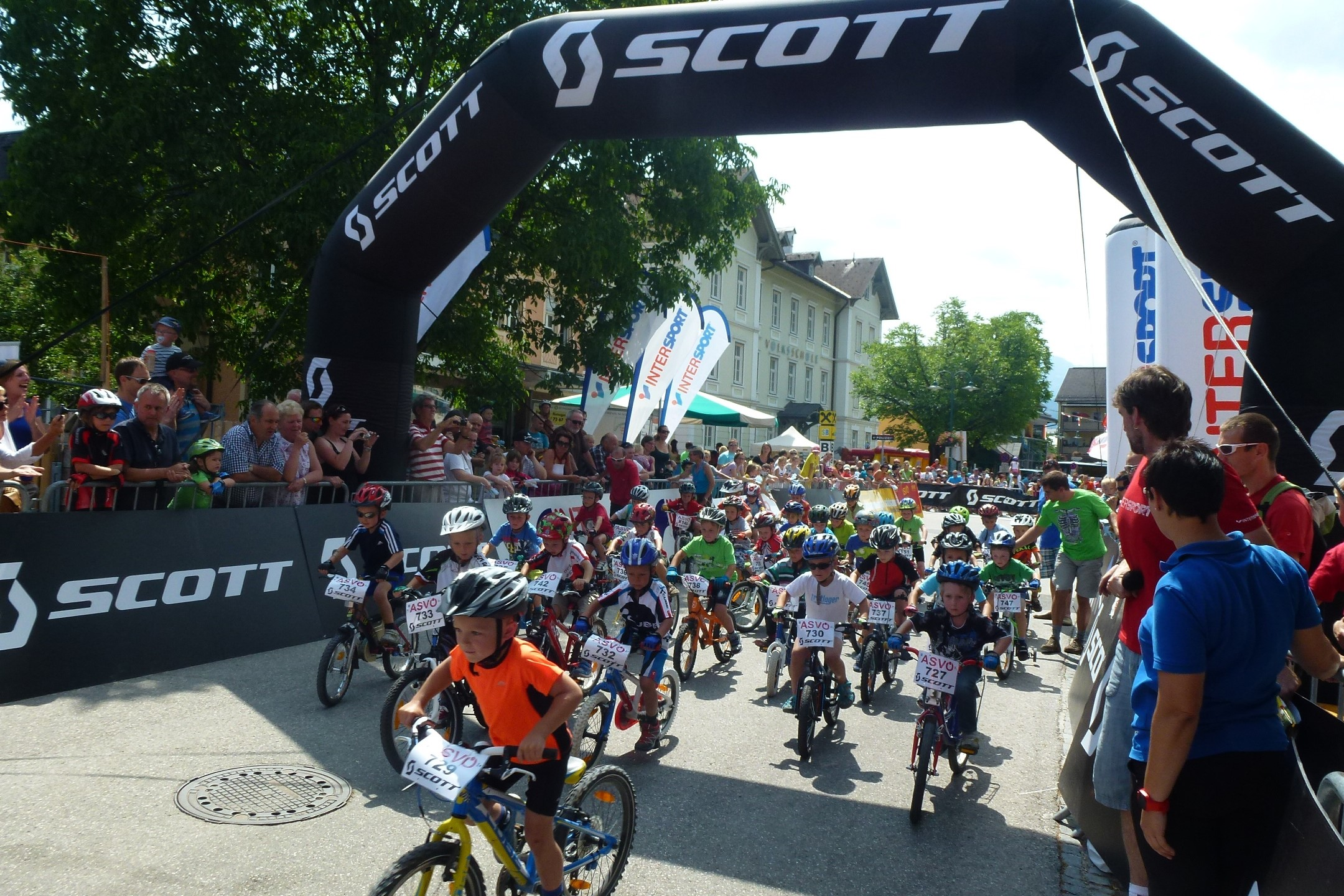 SCOTT JUNIOR TROPHY IN BAD GOISERN
