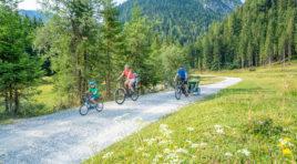 Bike-Urlaub mit der Familie in Flachau