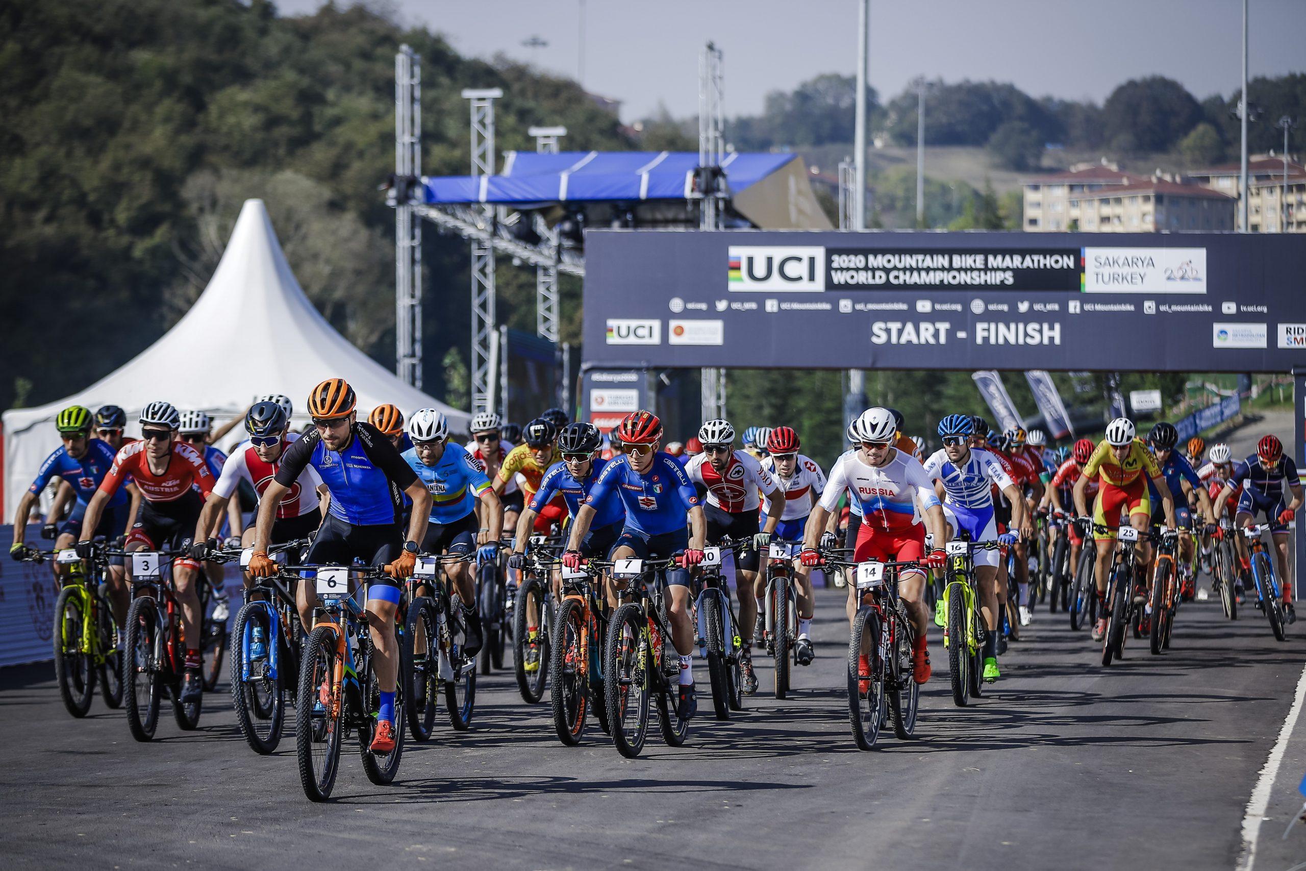 UCI Mountain Bike Marathon  Weltmeisterschaft // Páez León und Forchini holen Gold