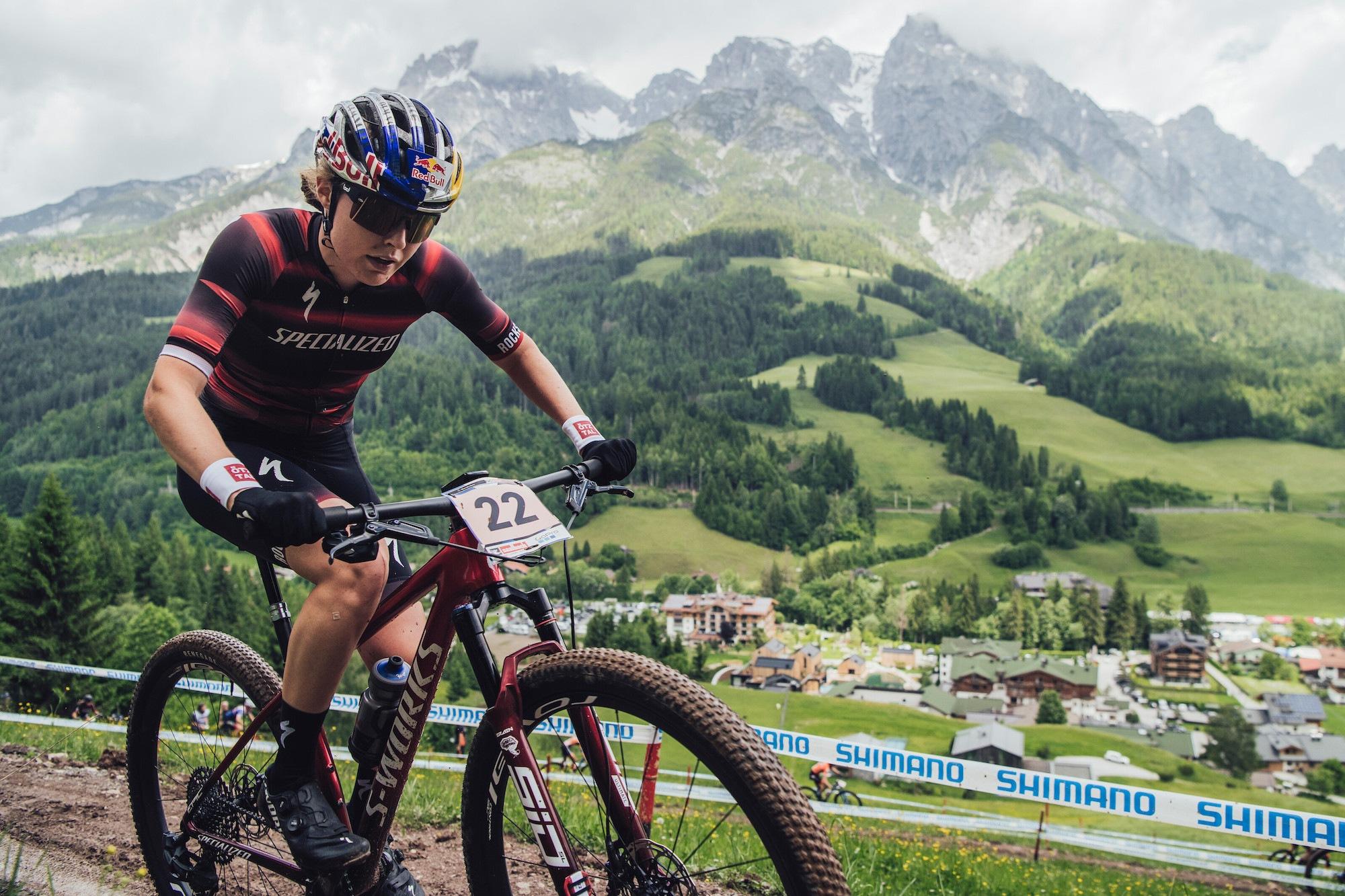 UCI MTB World Cup Saalfelden-Leogang// Doppel-Sieg für Flückiger  und Lecomte, Stigger glänzt mit 3. Platz