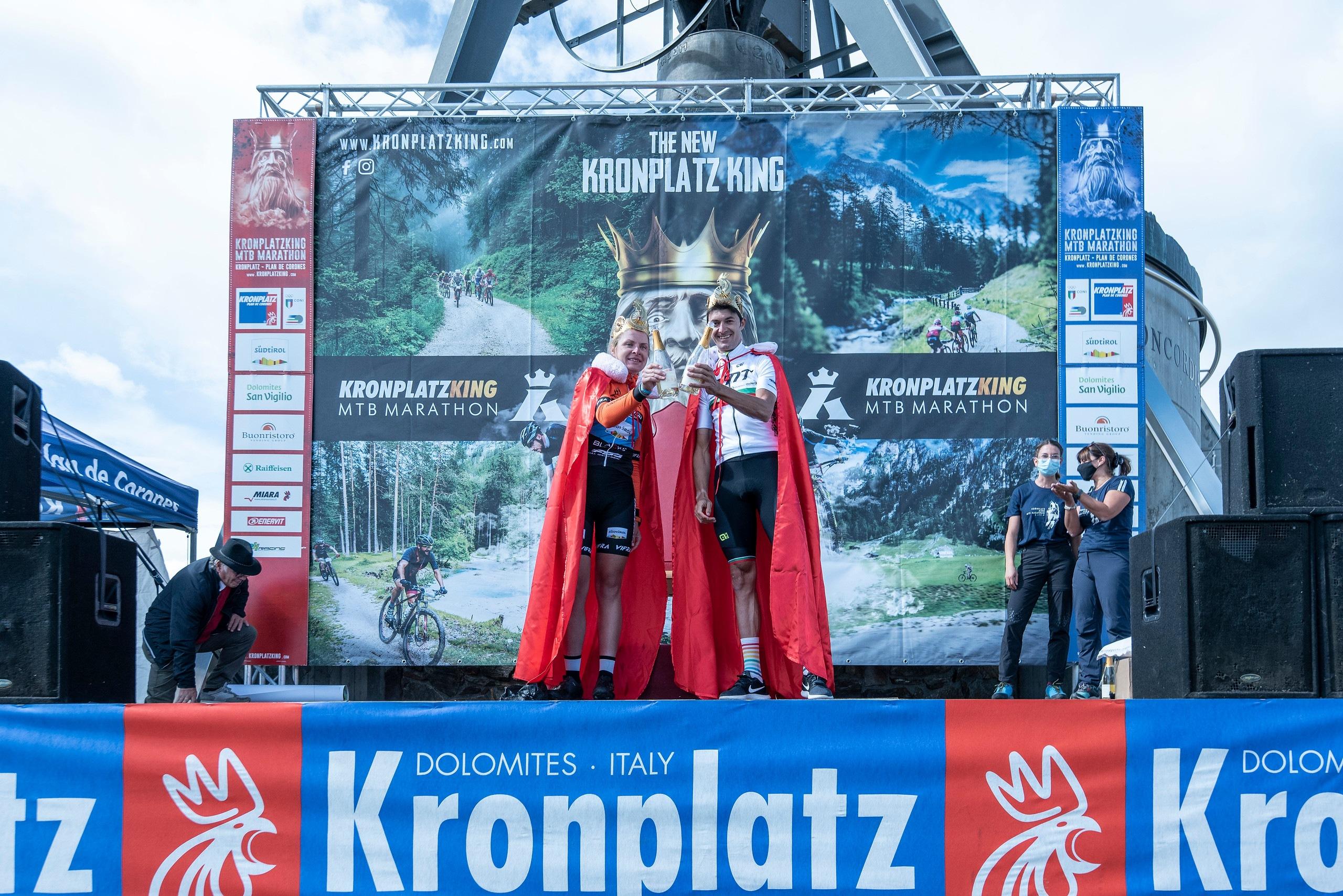 Katazina Sosna und Tiago Ferreira gewinnen Kronplatz King 2021